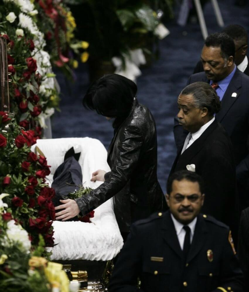 Most Memorable Celebrity Funerals | James Brown