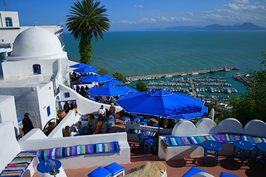 Best Beaches in Africa | Sidi Bou Said