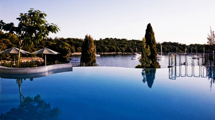 Best Swim-Up Bars Found In Hotels 10. Hotel Monte Mulini, Rovinj, Croatia