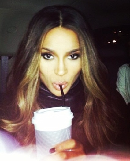 Celebrities Most Obsessed With Selfies  Top 10 10. Ciara