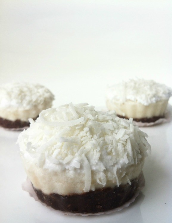 10 Raw Desserts For A Great Outdoor Summer Party - Coconut Cream Pie with Dark Chocolate Crust