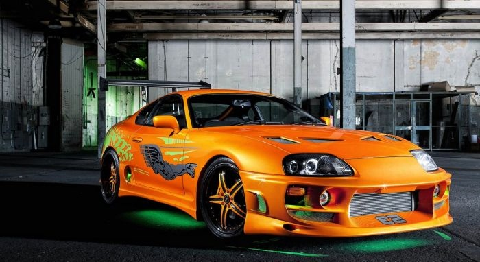 Coolest Fast And Furious Cars Top 10 6. Toyota Supra