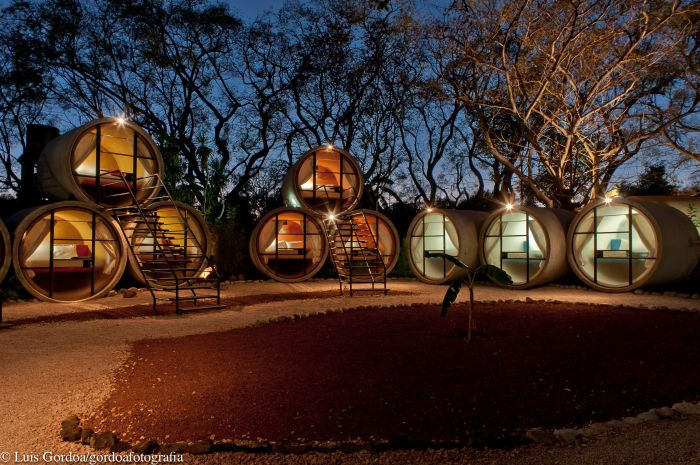 Futuristic Luxury Hotels  Top 10 10. Tubohotel, Mexico