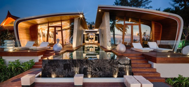 This Luxury Beach Front Home in Thailand = The Future