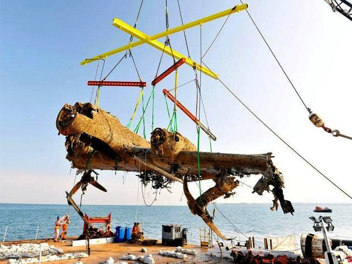 Most Amazing Scuba Diving Finds in History 8. The Dornier 17