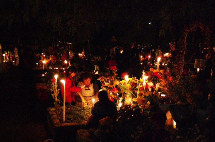 Most Beautiful Cemeteries in the World 10. Xoxocotlan Cemetery, Oaxaca, Mexico