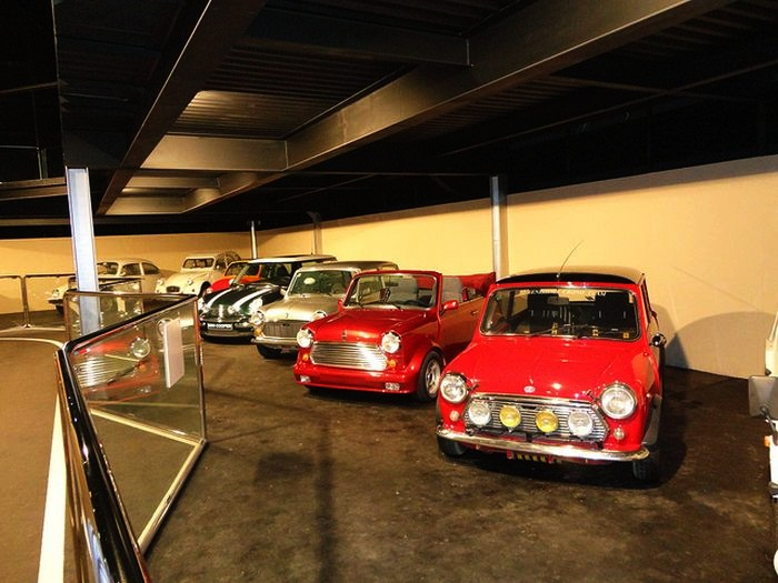 Most expensive car garages for Top ten museums in the world