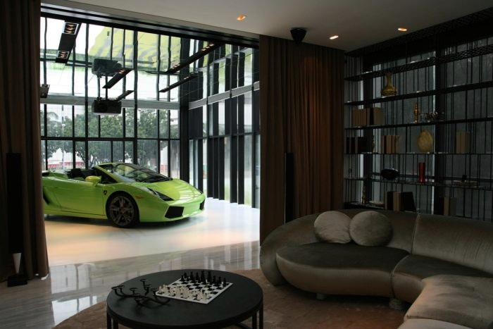 most expensive car garages