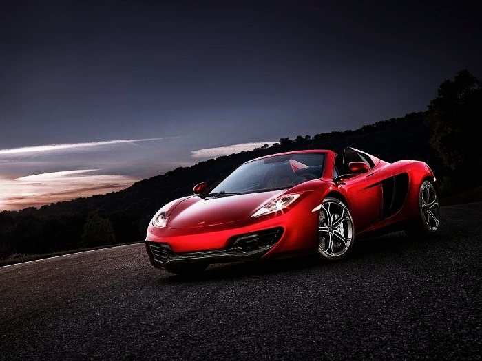 Most Expensive Exotic Cars to Rent  Top 10 9. McLaren MP4-12C Spyder - $1.620