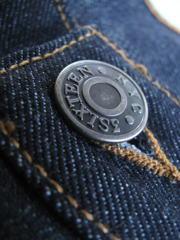 Most Expensive Items Made In America - 3Sixteen Heavyweight Indigo Denim - $270