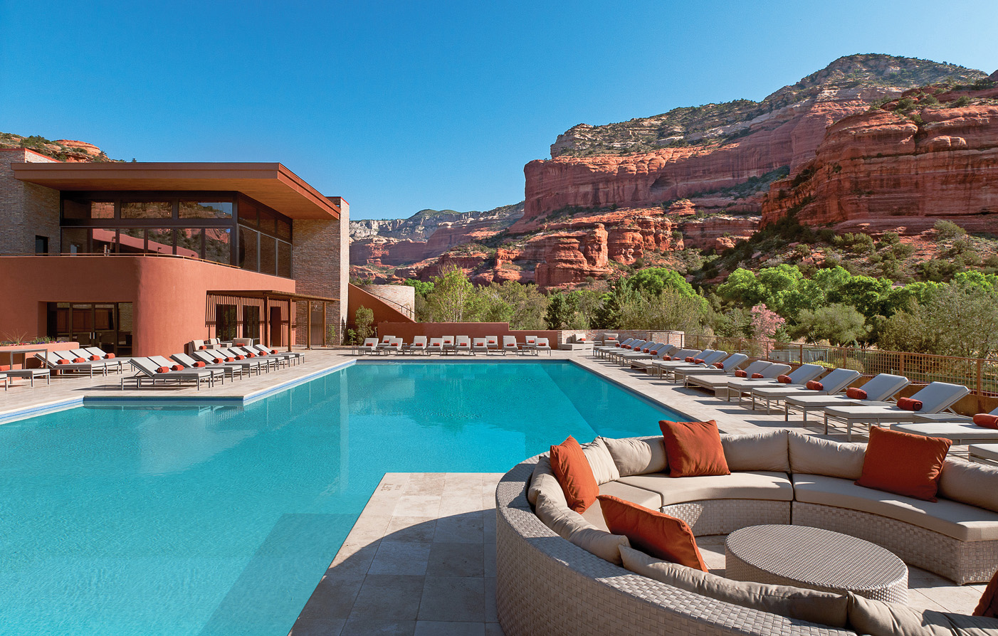 Most Hotels In The United States Enchantment Resort Sedona Arizona