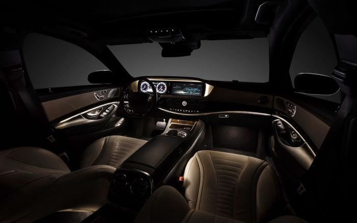 Most Stolen Luxury Cars Every Year 10. Mercedes Benz S Class Interior