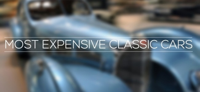 Most Expensive Classic Cars | Top 10