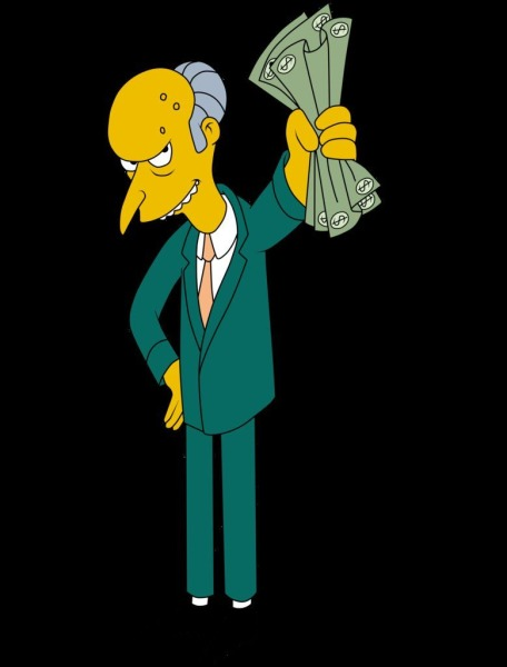 Richest Fictional Characters  Top 10 10. Charles Montgomery Burns - $1.5 billion