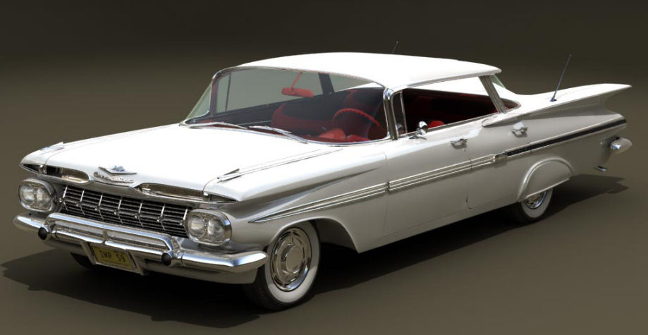 Top 10 Best Selling Cars of All Time - Chevrolet Impala - 14 million units