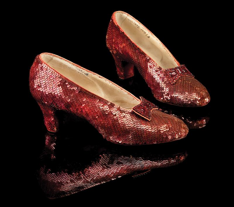 Top 10 Most Expensive Diamond Shoes In The World - Original Wizard Of Oz Ruby Slippers - $612.000