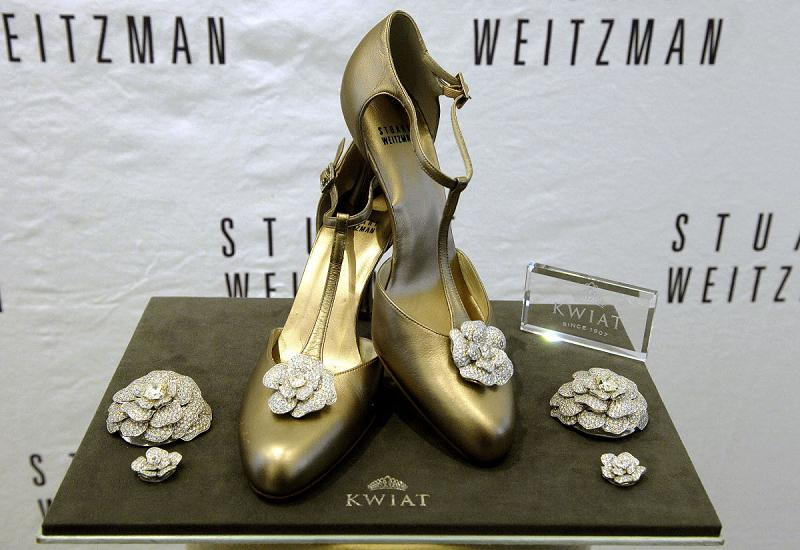 Top 10 Most Expensive Diamond Shoes In The World - Stuart Weitzman - Retro Rose Pumps - $1 Million