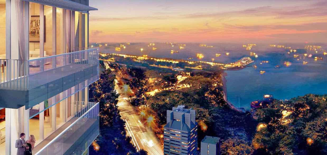 Top 10 Most Expensive Penthouses In The World - 10. Clermont Residence, Singapore, $47 million