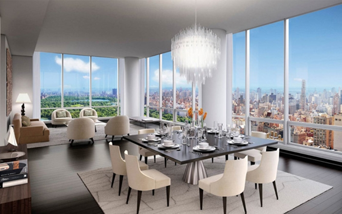 Most expensive penthouses in the world top 10 - Appartement de luxe new york a vendre ...