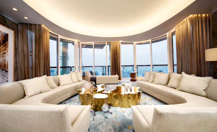 most luxurious living rooms most expensive penthouses in the world top 10 alux 14259