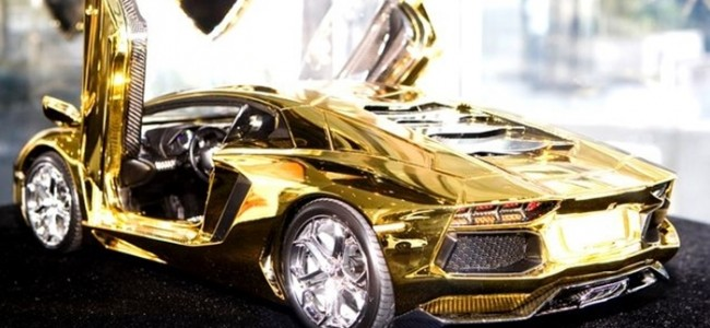 Top 10 World's Most Expensive Things Made Of Gold 1. Lamborghini - $62 Million