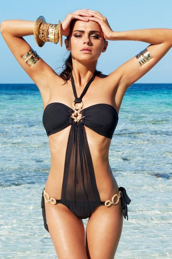 Little Black Swimsuits