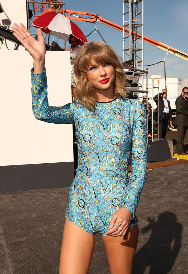 Best Dressed Celebrities At VMA 2014 - Taylor Swift