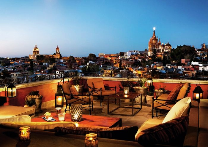Best Rooftop Bars in the World  Top 10 10. Luna Rooftop Tapas Bar, Rosewood Hotel, Mexico