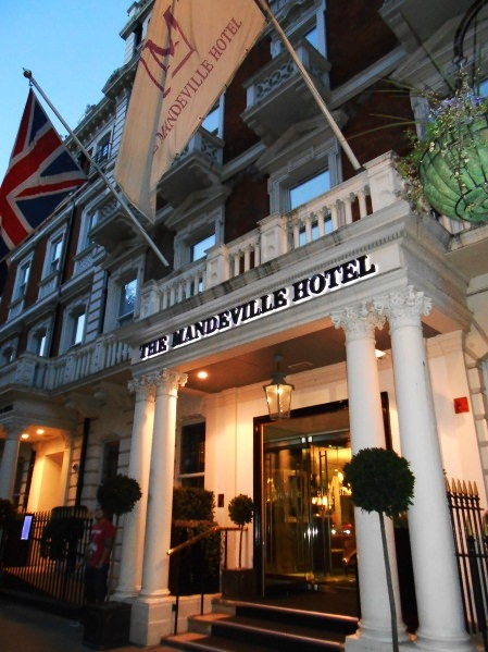 Best Venues for Afternoon Tea in London 10. The Mandeville Hotel