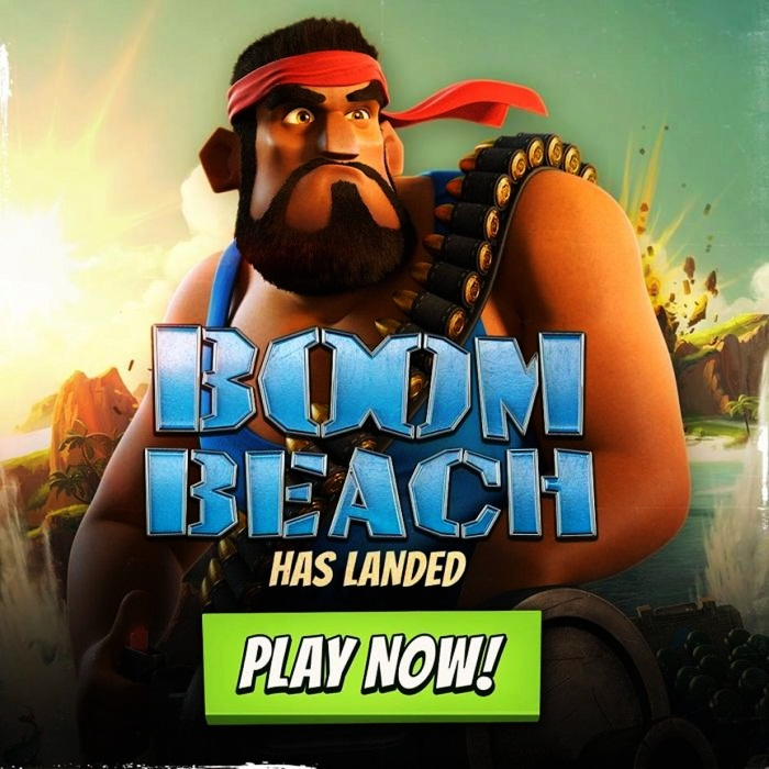 Highest Grossing Free-to-Play Gaming Apps 9. Boom Beach - $44 million