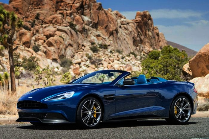 Sexiest Convertibles on the Market  Top 10 10. Aston Martin Vanquish Volante