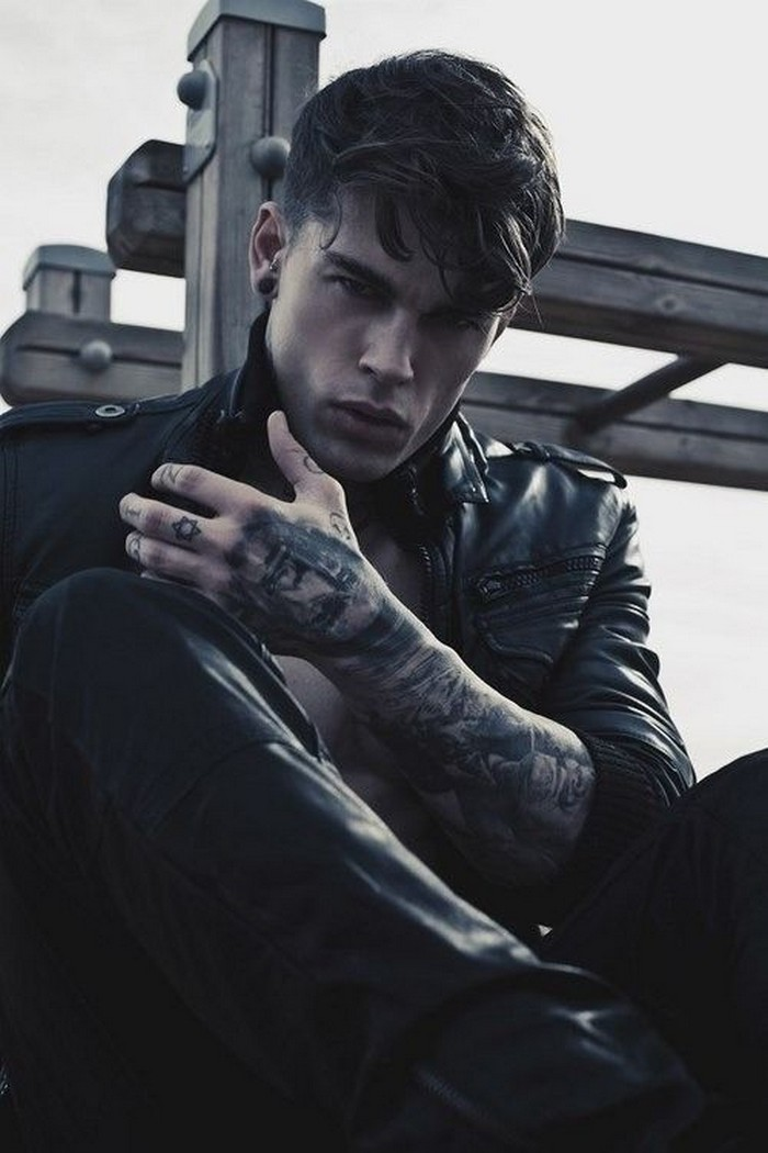 Hottest tattooed male models for Male wallpaper designs