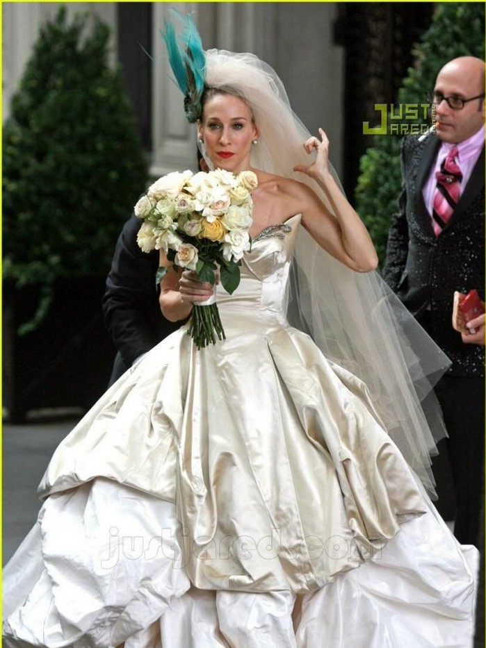 All Of Sex And The City's Wedding Dresses