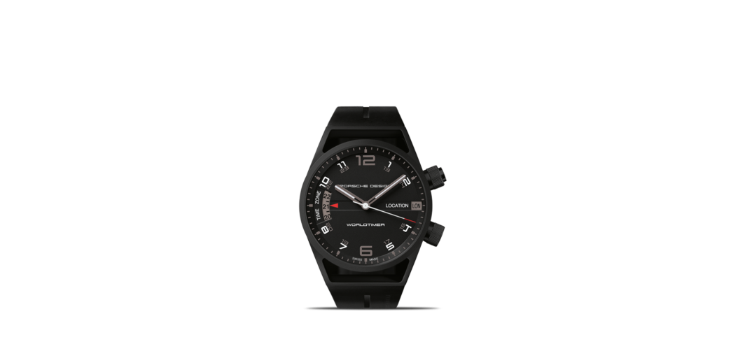 Most Expensive Porsche Design Watches | TOP 10 N3. P'6750 Worldtimer- $35,285