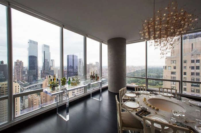 Most expensive penthouses in new york top 10 for New york city penthouses central park