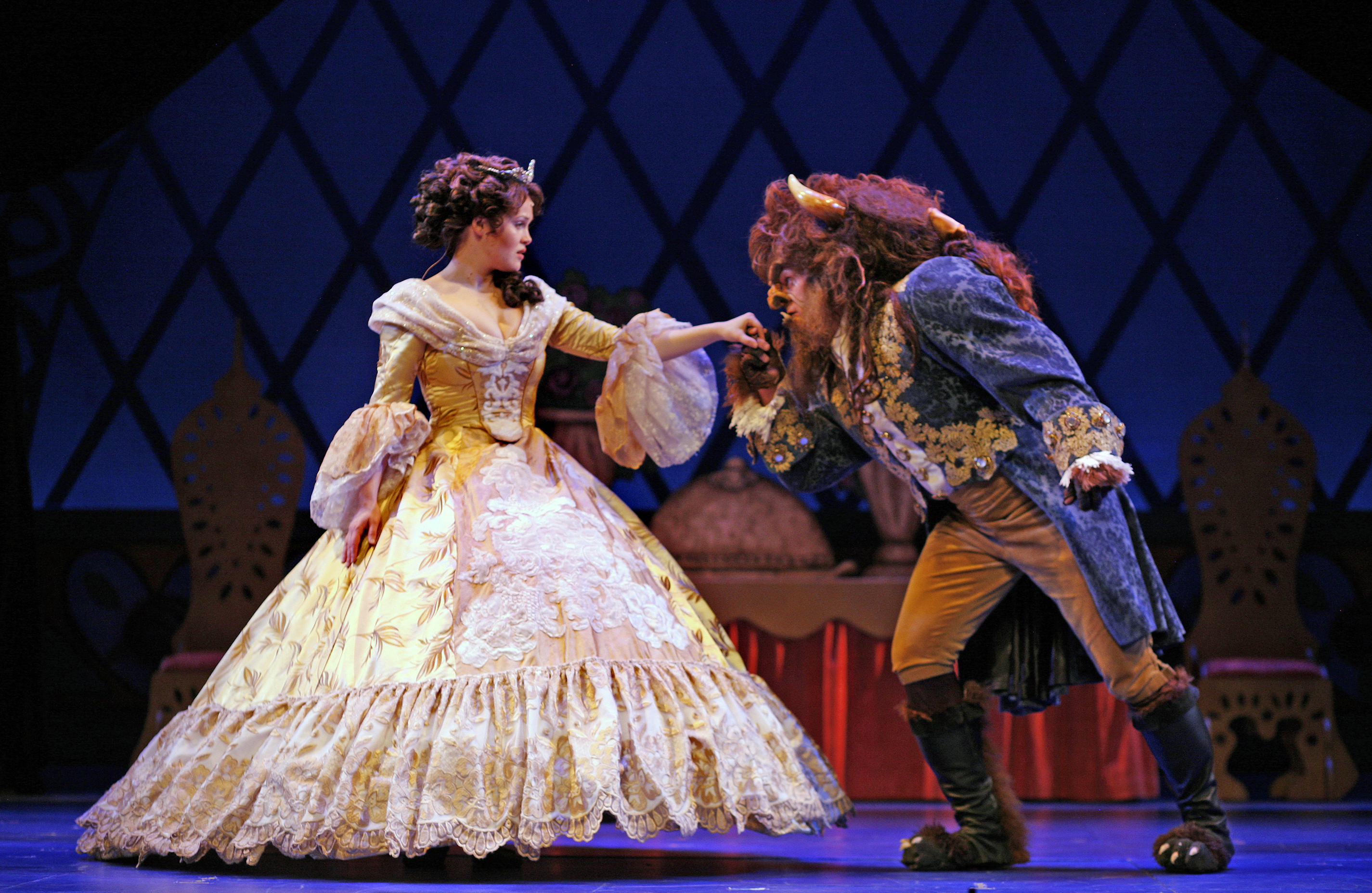 Beauty and the beast at montecasino iron horse casino wa