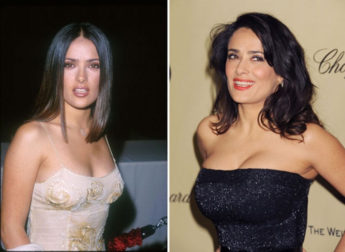 Most Expensive Celebrity Boob Jobs - Salma Hayek