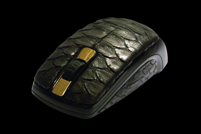 #9 MJ Python Leather Mouse - Price: $17.840 | Most Expensive Computer Mice | Top 10