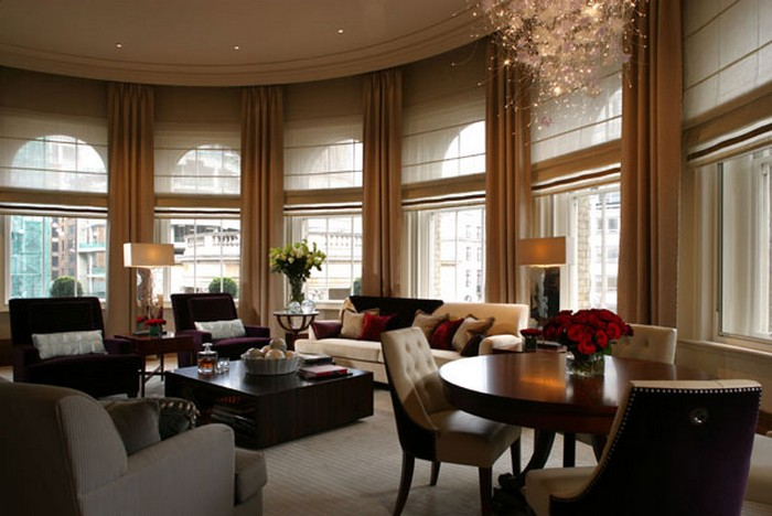9.The Infinity Suite at the Langham Hotel - $6,368 | Most Expensive Honeymoon Destinations