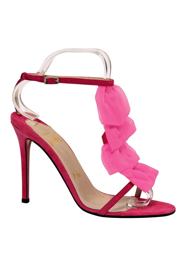 Most Expensive Items Carrie Bradshaw Wore Top 10 - 9. Christian Louboutin Petal Sandal - $995