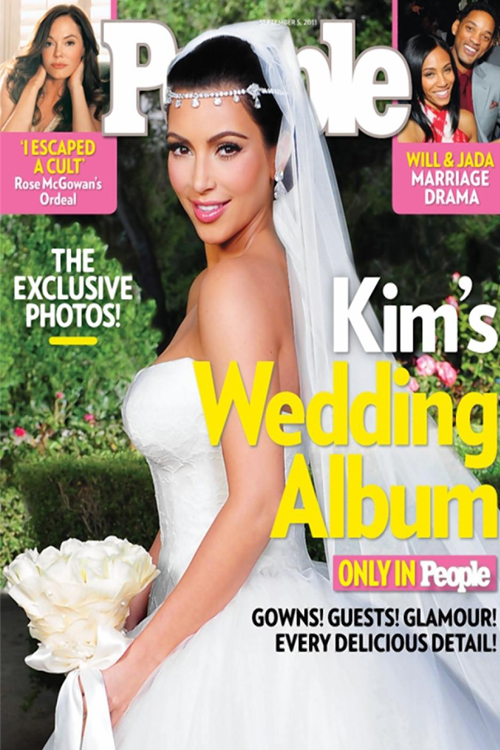 Most Expensive Magazine Covers Ever Shot  TOP 10 N10. People Magazine's Cover of Kim Kardashian's Wedding $1.5 million