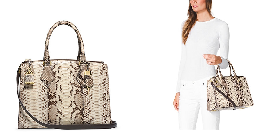 Most Expensive Michael Kors Bags 6 Casey Python Large Satchel 2 995