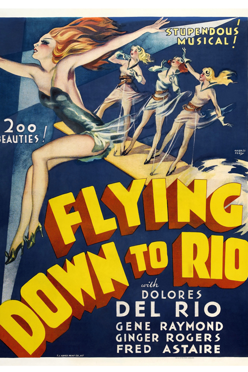 TOP 10 Most Expensive Movie Posters  9) Flying Down to Rio (1933) – Sold for: $239,000
