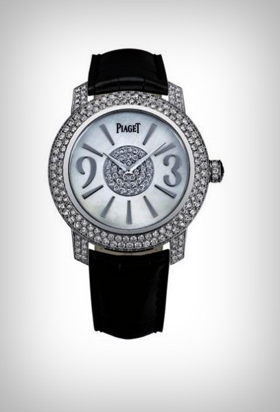 Most Expensive Piaget Watches  Top 10 9. Limelight Round White Gold Diamond Ladies Watch - $98.000