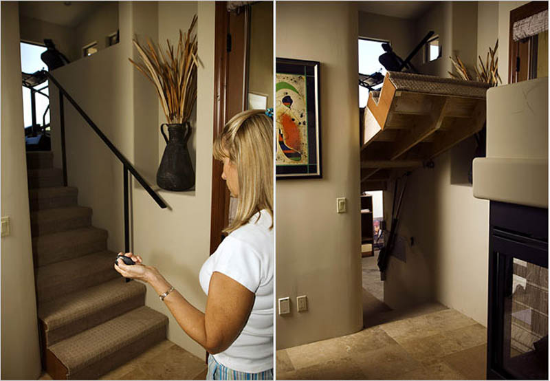 Most Expensive Security Systems In The World - 10. Secret Passageways (via twistedsifter.com)
