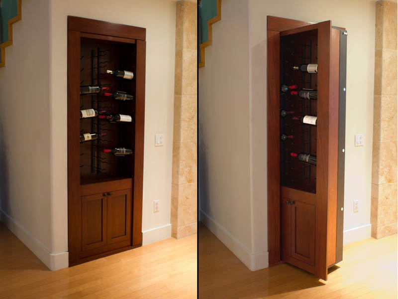 Most Expensive Security Systems In The World -10. Secret Passageways (via twistedsifter.com)
