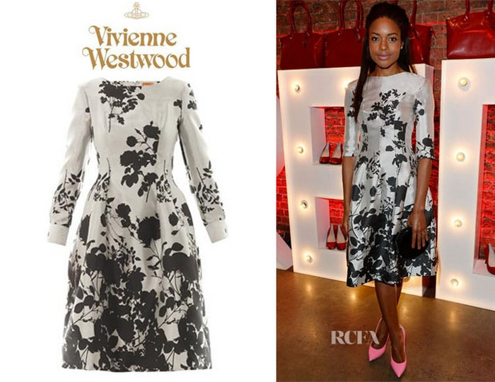 10.Joan Floral-jacquard Dress - $2,897 | Most Expensive Vivienne Westwood Dresses