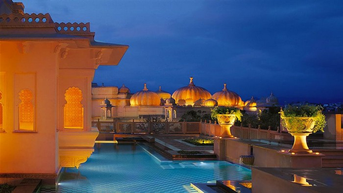 9.Oberoi Udaivilas, Udaipur, India - Price: $8,000+ | Most Expensive Wedding Venues in the World