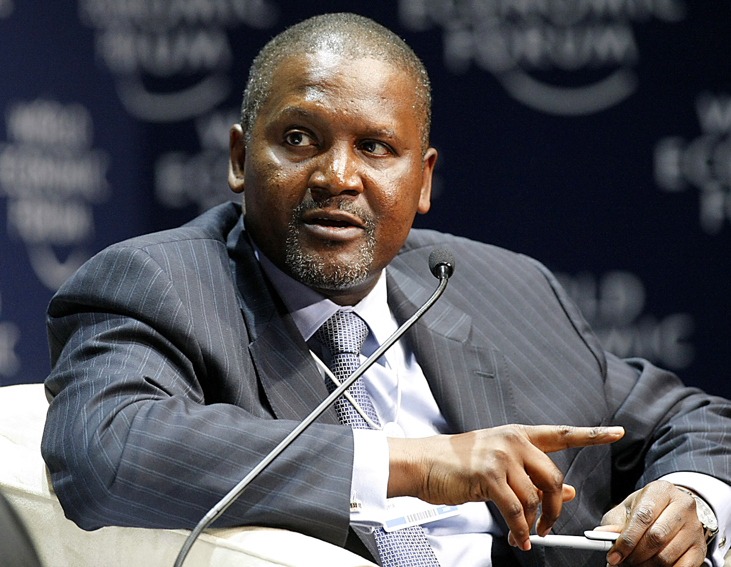 Richest CEOs In The World - 10. Aliko Dangote