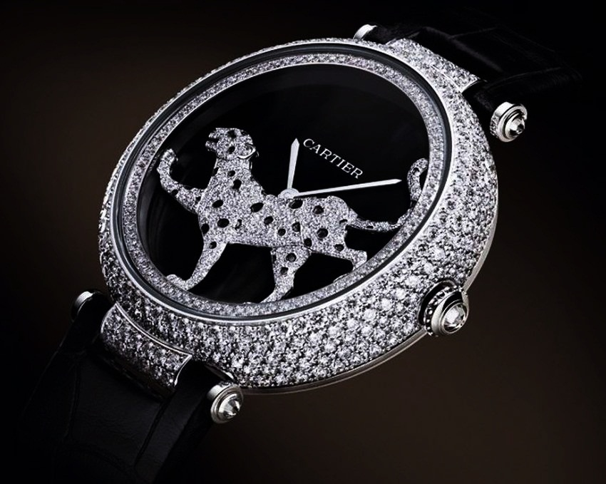 #10 Masse Secrete Panther Decor Watch by Cartier | Most Luxurious Microsculpture Watches | Top 10 [ Image Source: bornrich.com]